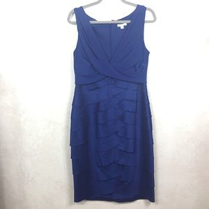 Liliana Blue Sleepless Cocktail Dress